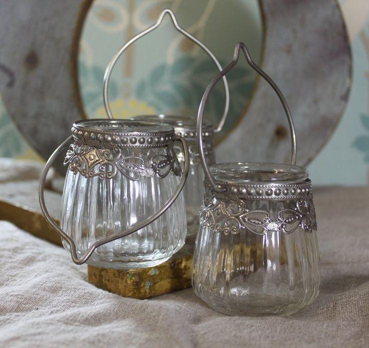 Vintage Victorian Hanging Tea Light Holder