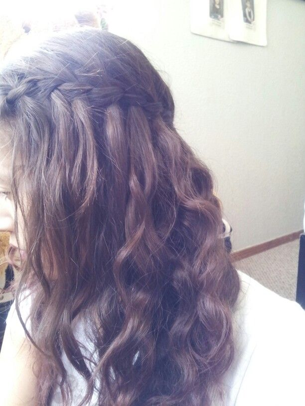 waterfall braidsHair Tumblr Braid