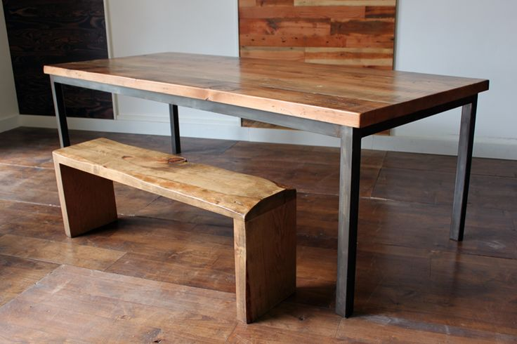 vintage industrial dining table dining room pinterest