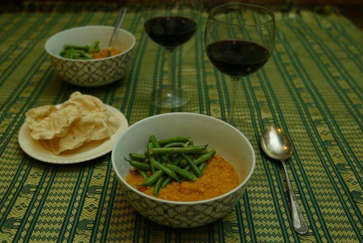 Bihari Green Beans Masala Recipe — Dishmaps