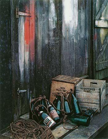 Green Bottles, Matinicus Island, Maine, August 24, 1954, Eliot Porter