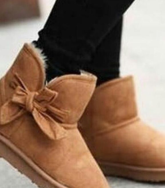 cute brown bow ugg boots boots pinterest