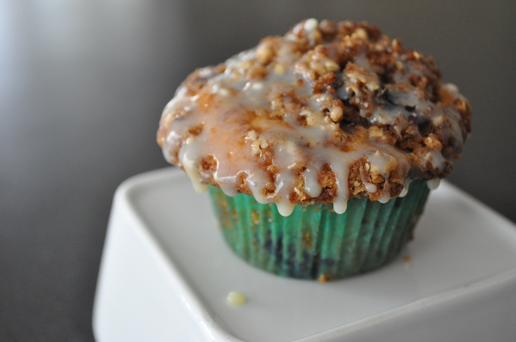 Blueberry Streusel Muffins | Rise & Shine Food | Pinterest