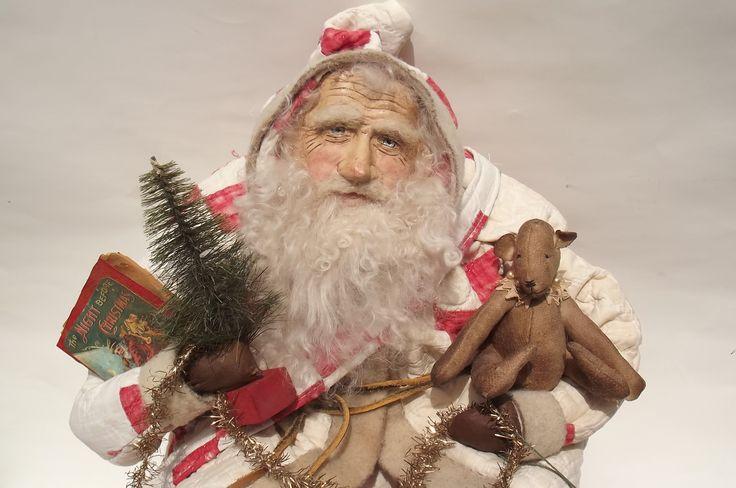 Pin by Terri Kroth on Primitive Santas | Pinterest