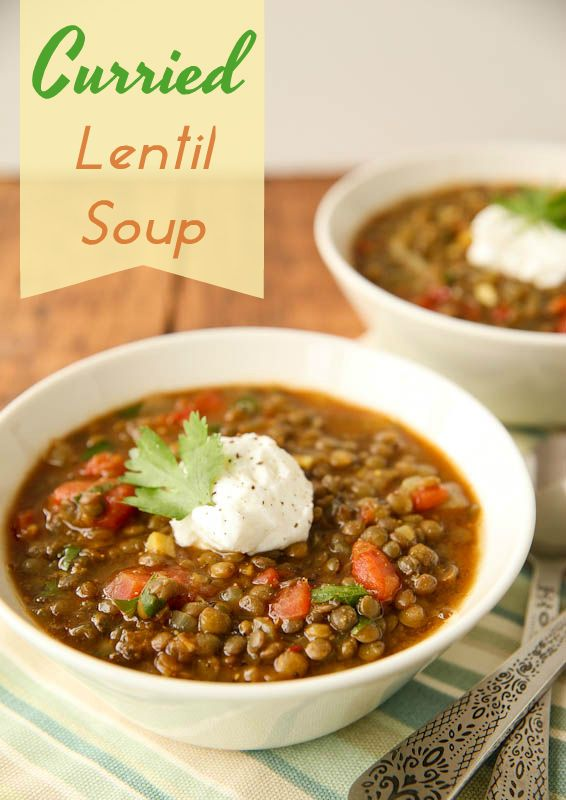 Curried Lentil Soup Recipe — Dishmaps