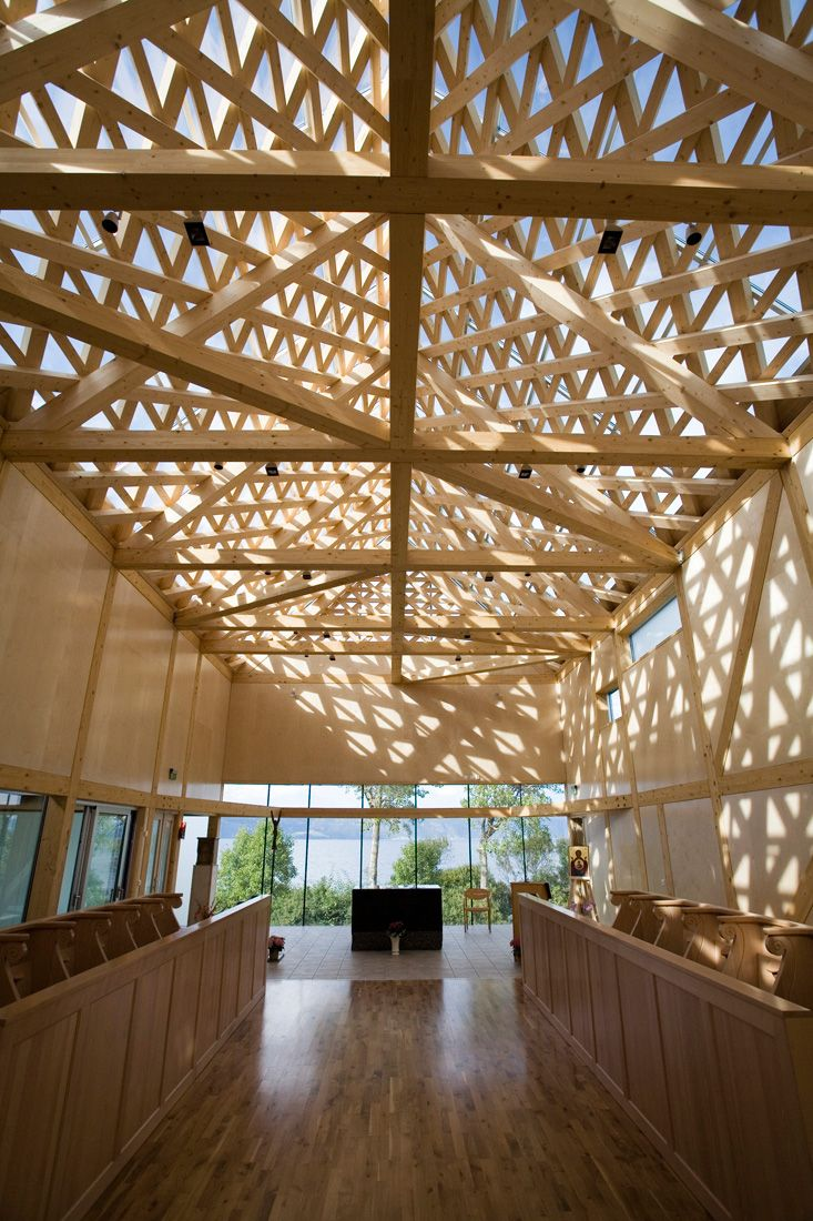 Tautra monastery jsa wood structure religious for Architecture wood