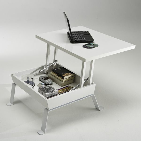 coffee table converts to work desk design diy for tiny places pi