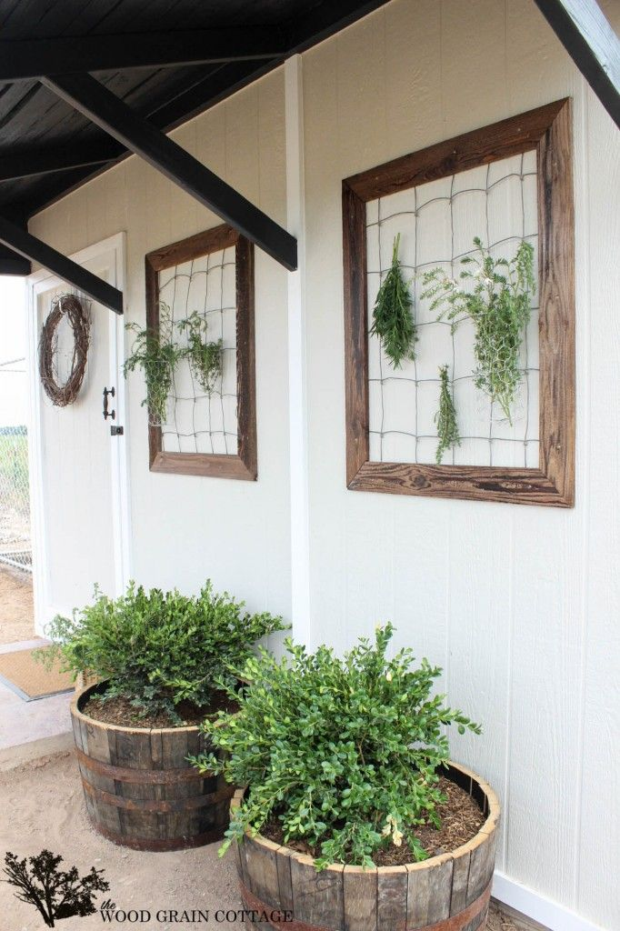 Shed Makeover by The Wood Grain Cottage
