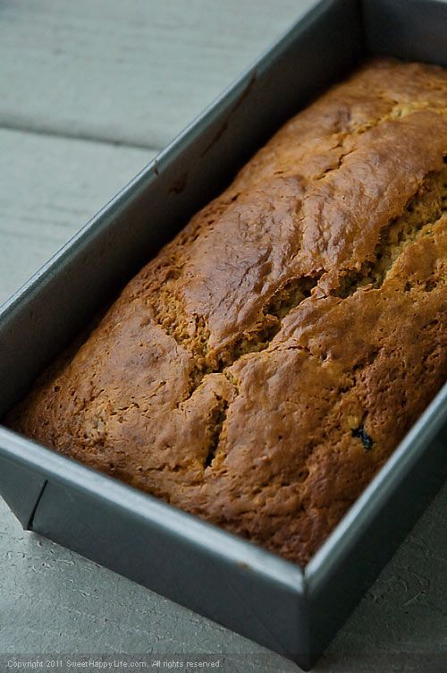 Whole Wheat Banana Blueberry Bread ** use ground flax seed, soy yogurt ...