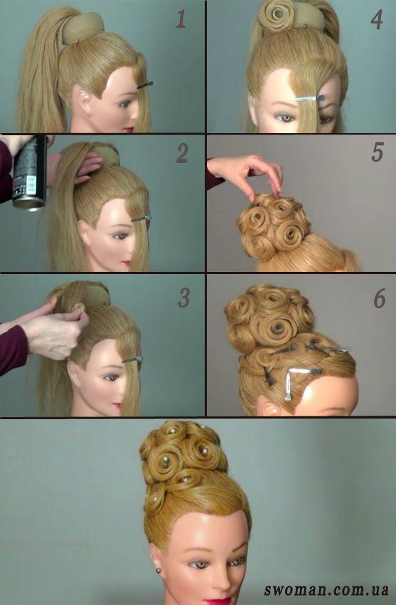Причёски с пошаговой инструкцией