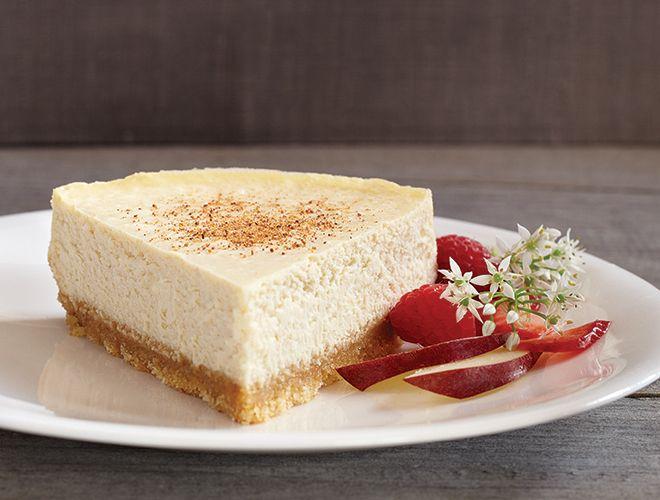 Eggnog Cheesecake Recipe - Above & Beyond