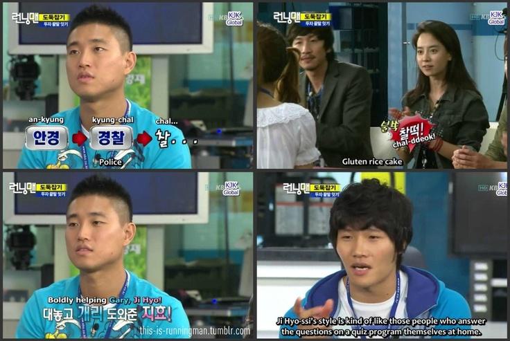 When ji hyo helped her monday boyfriend running man