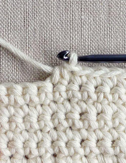 Crochet Decrease : Single Row Decrease - Crochet Tutorials - Knitting Crochet Sewing ...