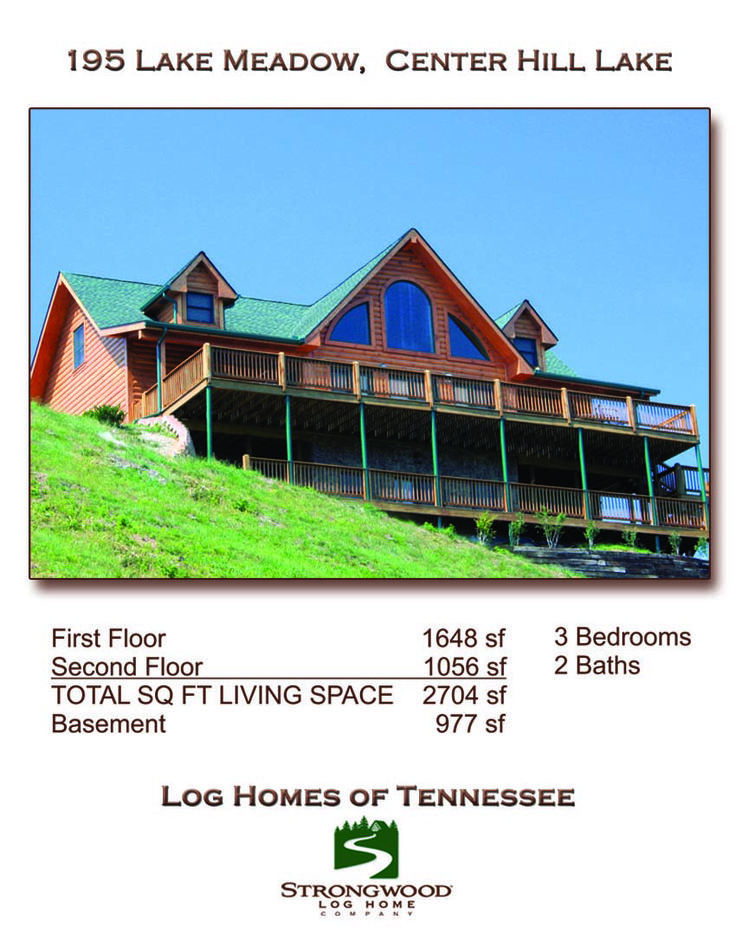 Center Hill Lake Area Log Homes In Mid Tennessee Pinterest