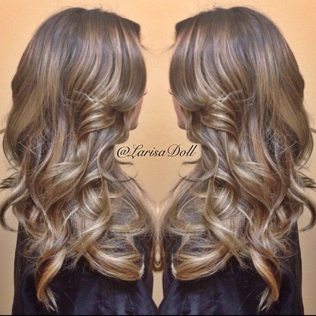 Brown ombre hair natural beigeyundertoned medium brown of for Brown beige paint color