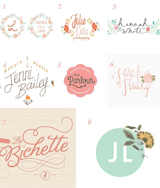 Pretty Logo Designs Design Pinterest