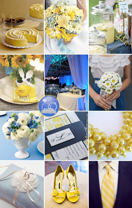 Blue And Yellow Wedding Ideas : Discover and save creative ideas
