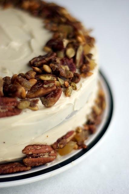 Brown Butter Pumpkin Layer Cake | Fall foods & desserts | Pinterest