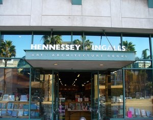 Hennessy_and_Ingalls Art and Architecture Books - really, anything that has to do with design. Time flies there.