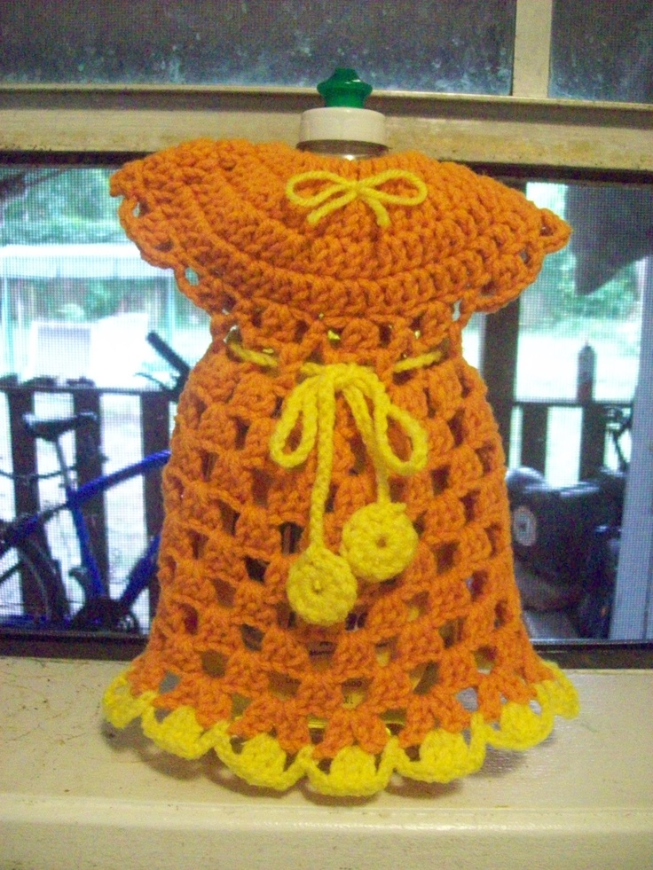 Pin by Bea Luvs Crochet on Crochet Kitchen -- Dish Bottle ...