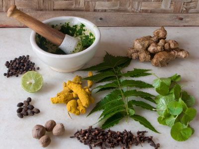 "Turmeric, like other herbs and spices, is a principle herb in Ayurveda -- India's ancient holistic health system.  Ayurveda means ""knowledge of life"" -- with herbs lying at the very heart of Ayurvedic practice."