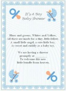 baby boy poem ideas baby shower ideas pinterest