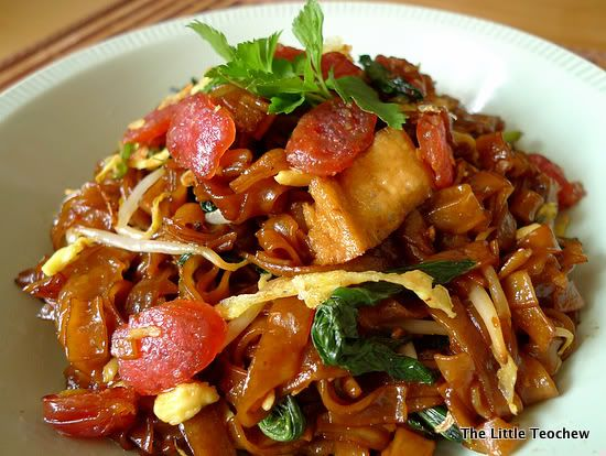 The Little Teochew: Singapore Home Cooking: Char Kway Teow