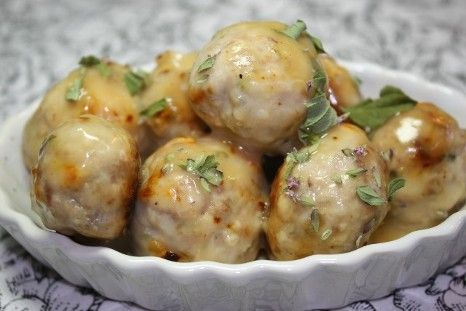 Chicken Souvlaki Meatballs | Food | Pinterest