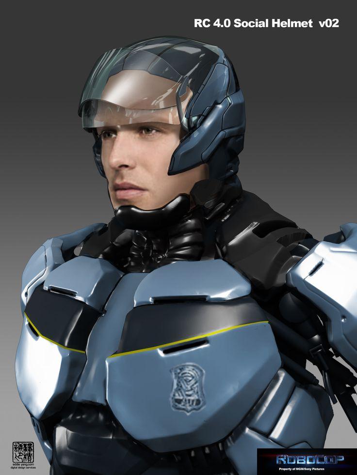 Robocop Concept Art | ROBOCOP REBOOT | Pinterest