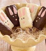 Easter Bunny Pops