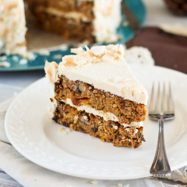 Some-Shade-of-Paleo Carrot Cake I'm not on a paleo diet, but this ...