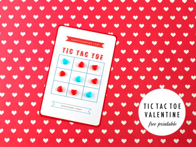 SALLYJSHIM BLOG - [MAKE] TIC TAC TOE VALENTINES