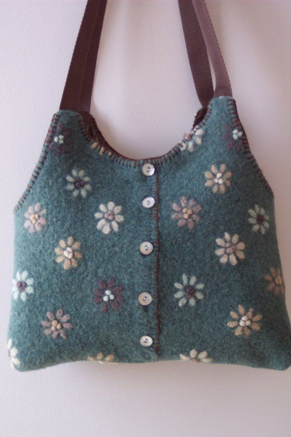 Recycled Sweater Bag Pattern 69