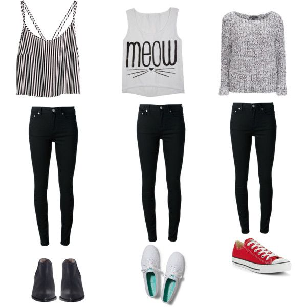 The gallery for --u0026gt; Cute Outfits For Girls In High School With Converse