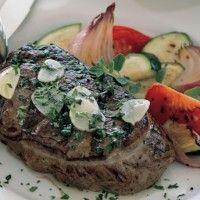 Beef Tenderloin Steaks sear 3 min each side then pull of heat and ...