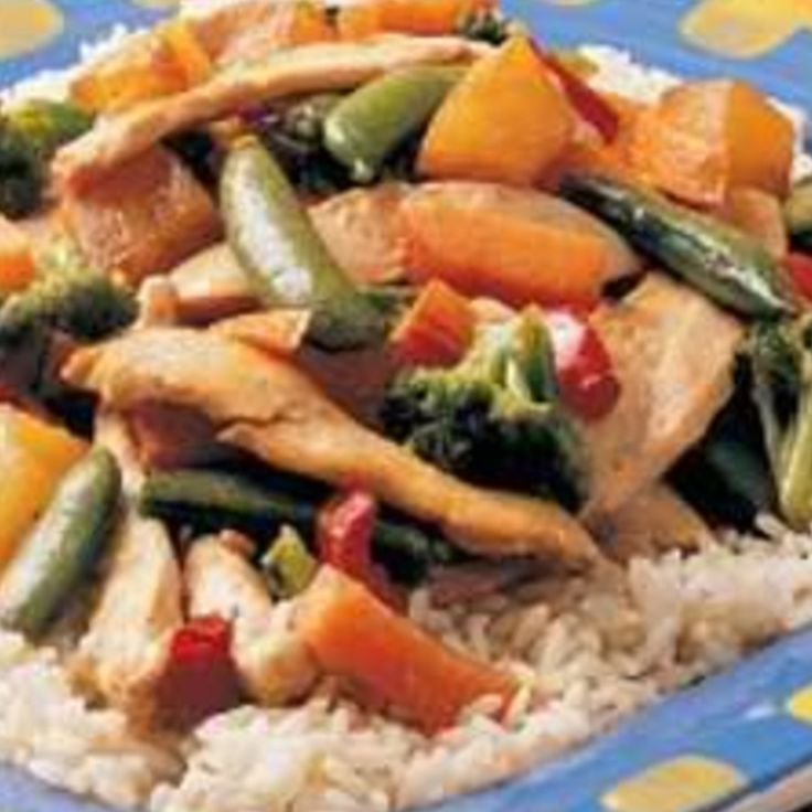 Pineapple Chicken Stir-fry | Recipes | Pinterest