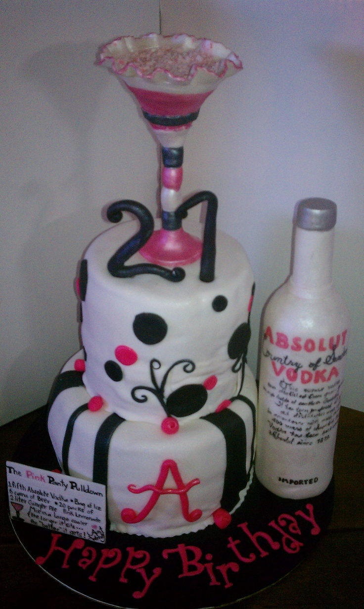 Pin by salena white on birthday ideas pinterest for 21st birthday cake decoration
