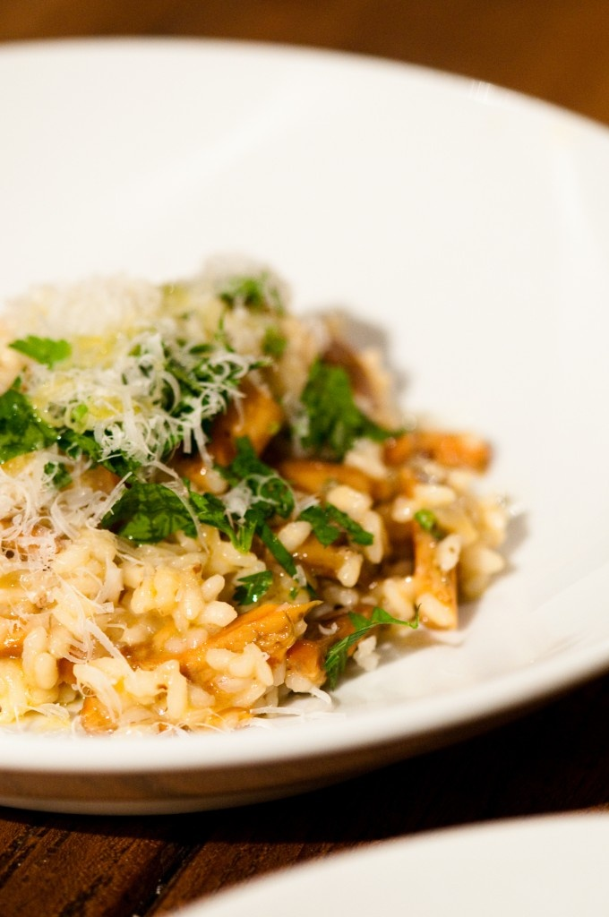 ... wild mushroom risotto with peas recipes dishmaps wild mushroom risotto