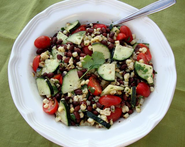 Chelsea's Culinary Indulgence: Grilled Corn and Black Bean Salad