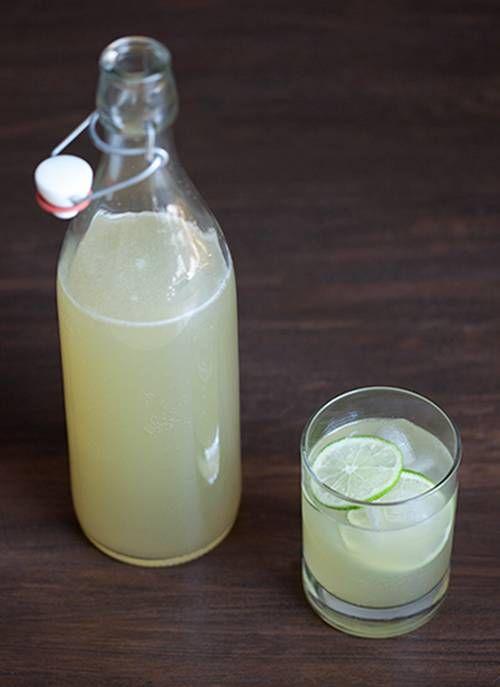 Sparkling Limeade | Non-Alcoholic Beverages | Pinterest