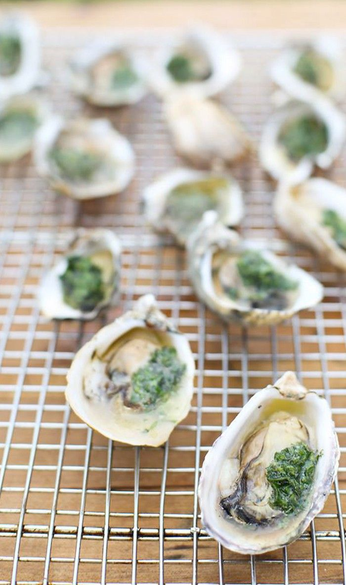 Grilled Oysters   Seafoods Dishes   Pinterest