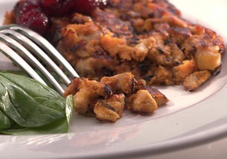 Sweet Potato & Turkey Hash... low carb breakfast