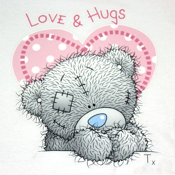 Good Morning Love And Hugs : Tatty teddy pinterest