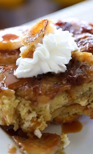 Overnight Bananas Foster French Toast | Recipe