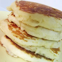 Good Old Fashioned Pancakes. So much better than boxed pancake mix.