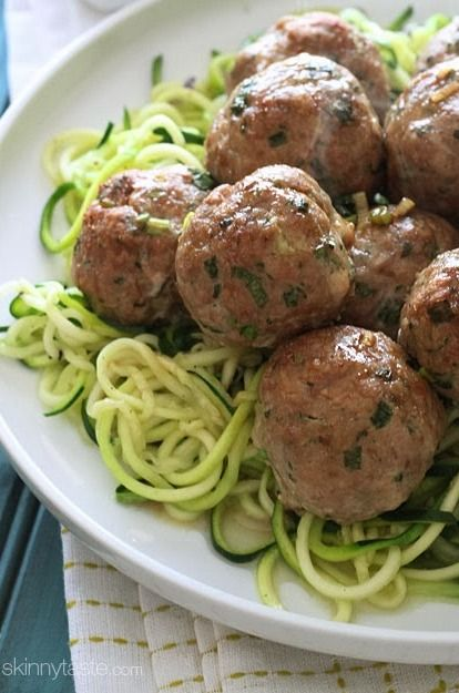 Asian Turkey Meatballs With Lime Sesame Dipping Sauce | Recipe