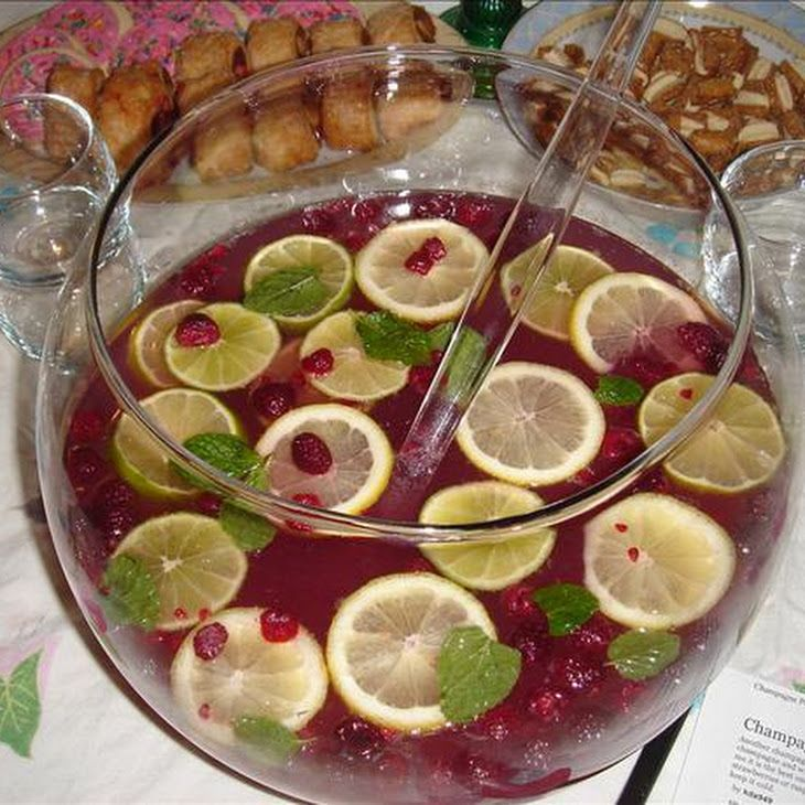 Champagne Punch | Cocktail Recipes and Details | Pinterest
