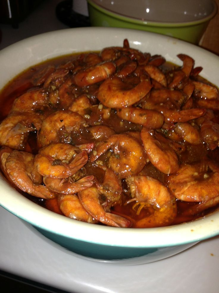 BBQ Shrimp New Orleans Style | Cooking | Pinterest