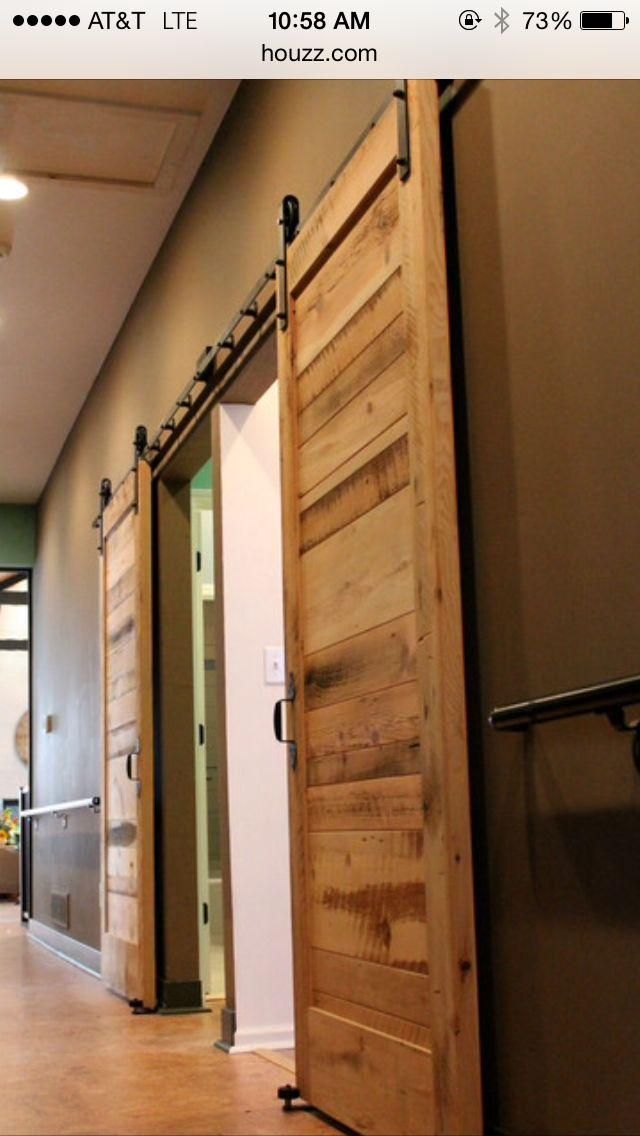 Barn door decor home accessories pinterest for Barn door home decor