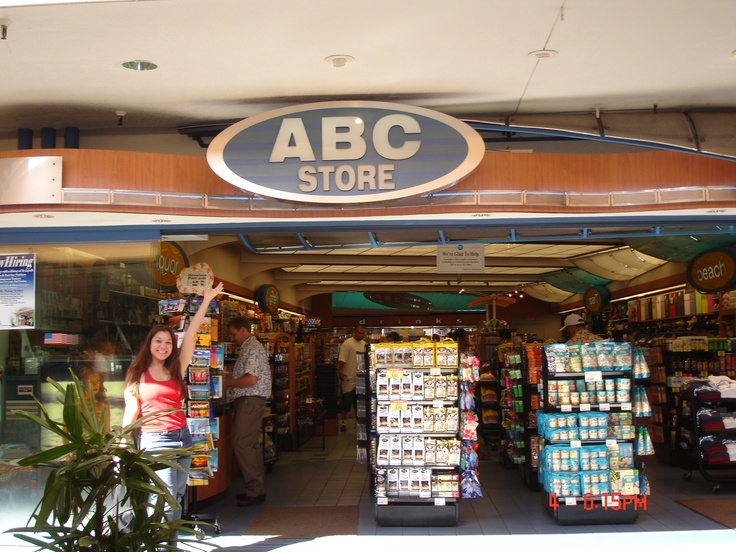 ABC Store is your best friend when you are in Hawaii on a budget. :-)